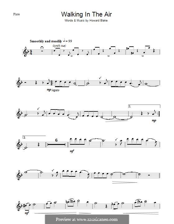 Walking in the Air: Für Flöte by Howard Blake