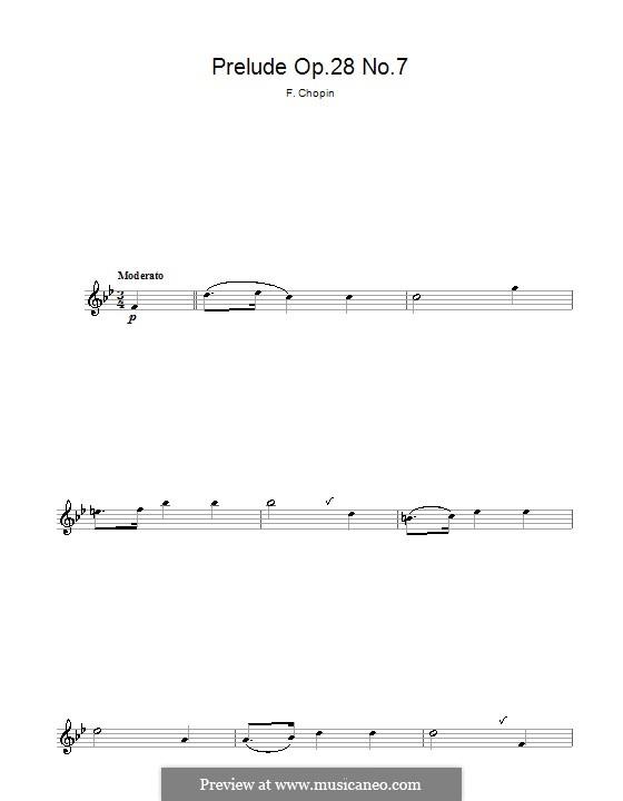 Nr.7 in A-Dur: Für Flöte by Frédéric Chopin