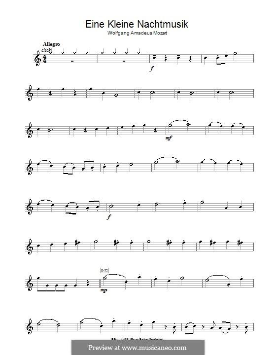 Allegro: Für Flöte by Wolfgang Amadeus Mozart