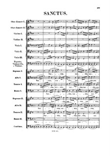 Sanctus in D-Dur, BWV 241: Sanctus in D-Dur by Johann Sebastian Bach
