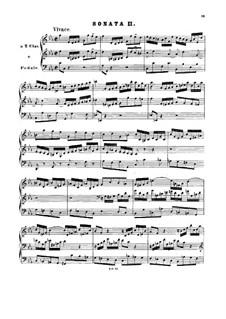 Triosonate für Orgel Nr.2 in c-Moll, BWV 526: Für einen Interpreten by Johann Sebastian Bach