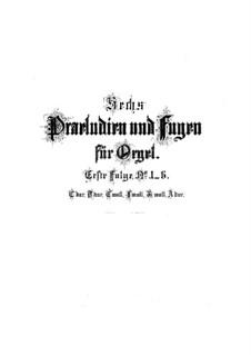 Präludium und Fuge Nr.1 in C-Dur, BWV 531: Präludium und Fuge Nr.1 in C-Dur by Johann Sebastian Bach