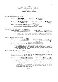 Ausgewählte Stücke: Anmerkung by Johann Sebastian Bach