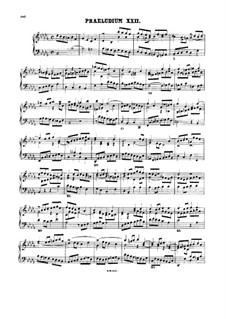 Präludium und Fuge Nr.22 in b-Moll, BWV 891: Für Cembalo by Johann Sebastian Bach