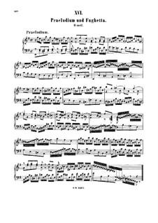 Präludium und Fughetta in e-Moll, BWV 900: Für Cembalo by Johann Sebastian Bach