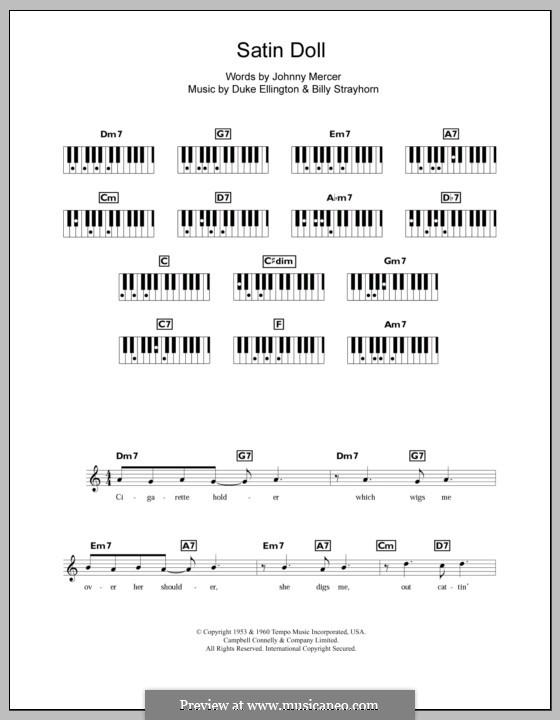 Satin Doll: Für Keyboard by Billy Strayhorn, Duke Ellington