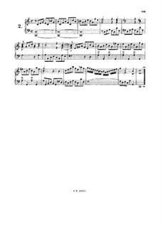Kleines Präludium in C-Dur, BWV 939: Für Cembalo by Johann Sebastian Bach