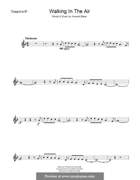 Walking in the Air: Für Trompete by Howard Blake
