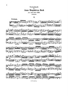 Vollständiger Staz: Urtext by Johann Sebastian Bach