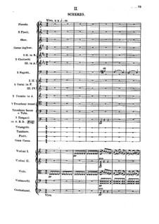 Sinfonie Nr.1 in C-Dur: Teil II by Mily Balakirev