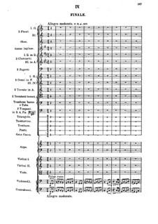 Sinfonie Nr.1 in C-Dur: Teil IV by Mily Balakirev