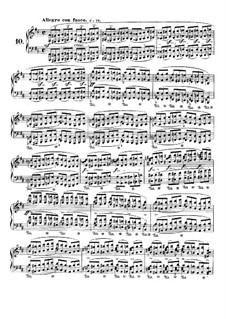 Nr.10 in h-Moll: Für Klavier by Frédéric Chopin