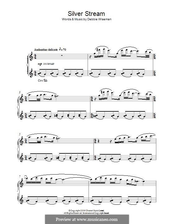 Silver Stream: Für Klavier by Debbie Wiseman