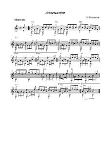 Allemande, Op.16: Allemande by Oleg Kopenkov