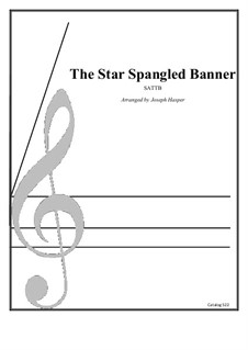 The Star Spangled Banner (National Anthem of The United States): Jazz anthem for SATB by John Stafford Smith