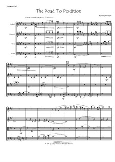 The Road To Perdition (string quartet): The Road To Perdition (string quartet) by Joseph Hasper