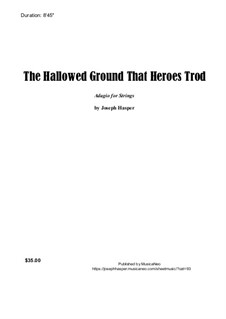 The Hallowed Ground (string orchestra): The Hallowed Ground (string orchestra) by Joseph Hasper