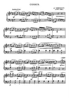 Sonate in g-Moll: Sonate in g-Moll by Domenico Cimarosa