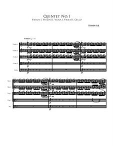 Quintet No.1: Quintet No.1 by Irminsul Harp