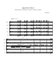Quintet No.2: Quintet No.2 by Irminsul Harp