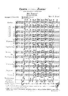 Suite: No.3 Dances by Léo Delibes