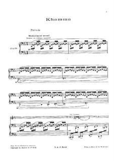Khamma, L.125: Khamma by Claude Debussy