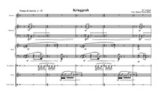 Piece for Soprano, Marimba, Piano and Small Percusion, MVWV 71: Piece for Soprano, Marimba, Piano and Small Percusion by Maurice Verheul