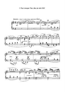 Six épigraphes antiques, L.131: Vollsammlung by Claude Debussy