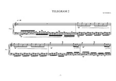Eight small piano pieces for intermediate and advanced students: Nr.2, MVWV 272 by Maurice Verheul