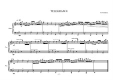 Eight small piano pieces for intermediate and advanced students: Nr.8, MVWV 277 by Maurice Verheul