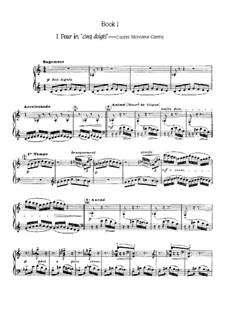 Etüden, L.136: Heft I, Nr.1-6 by Claude Debussy