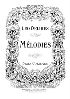 Melodien: Buch II by Léo Delibes