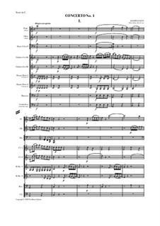 Concerto No.1, Hob.VIIh/1: Concerto No.1 by Joseph Haydn