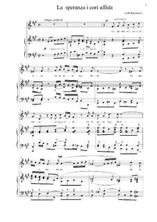 La speranza i cori affida: La speranza i cori affida by Giovanni Maria Bononcini