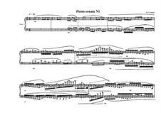 Piano sonata No.1 In one movement, MVWV 208: Piano sonata No.1 In one movement by Maurice Verheul