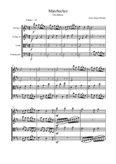 Märzbecher: Nr.1 Cro-Küsse by Hans-Jürgen Philipp