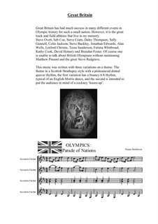 Olympics – Parade of Nations: Great Britain by Shaun Henderson