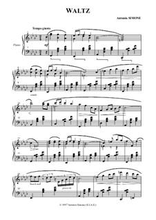 Waltz: Walzer by Antonio Simone