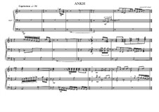 Work for Organ No.0 'Ankh No.1', MVWV 46: Work for Organ No.0 'Ankh No.1' by Maurice Verheul