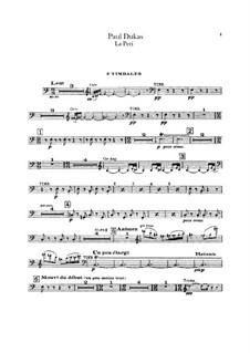 La Péri: Schlagzeugstimmen by Paul Dukas