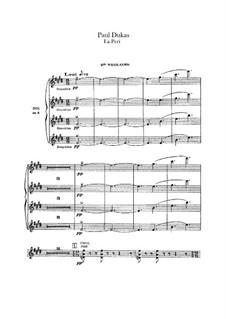 La Péri: Violinstimme II by Paul Dukas