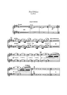La Péri: Oboen- und Englischhornstimmen by Paul Dukas