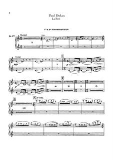 La Péri: Trompetenstimme by Paul Dukas