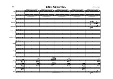 Die Walküre, WWV 86b: Ride of the Valkyries, for jazz orchestra by Richard Wagner