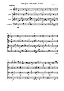 Dreams of the suburb of Caroline, Op.2: No.3 Menuet of Queen Bona by Vladimir Malganov