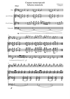 Dreams of the suburb of Caroline, Op.2: No.4 Scherzo of minstrels by Vladimir Malganov