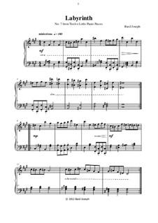 Twelve Little Piano Pieces: No.7 Labyrinth by Basil Joseph