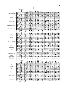 Nr.1 Furiant: Vollpartitur by Antonín Dvořák