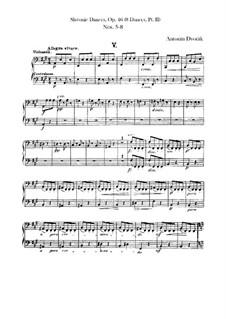 Heft II: Cello- und Kontrabass-Stimme by Antonín Dvořák