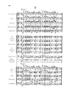 Nr.8 Furiant: Vollpartitur by Antonín Dvořák